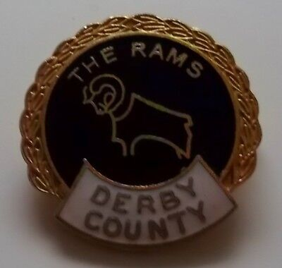 Old Derby County Badge - Made By Coffer