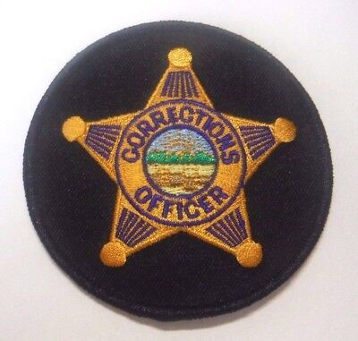 """Ohio Corrections Officer 3.25"""" Patch Unused"""