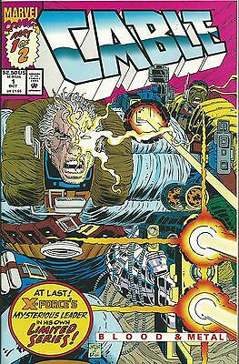 Cable #1  (Of 2) Mini Series 1992 (Marvel)