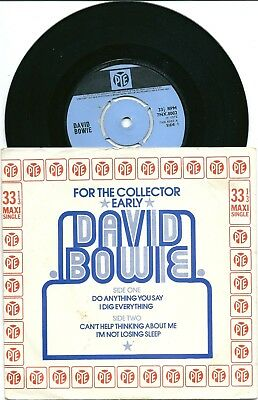 DAVID BOWIE - Do Anything You Say / UK P/S EP / Pye 1972