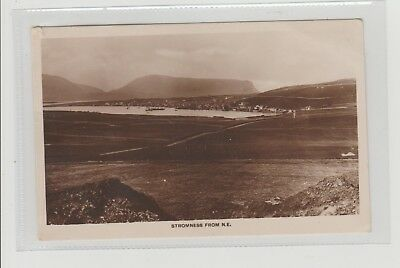 Stromness From North-East Panoramic View RPPC P/M Stromness 1930 L J Smith