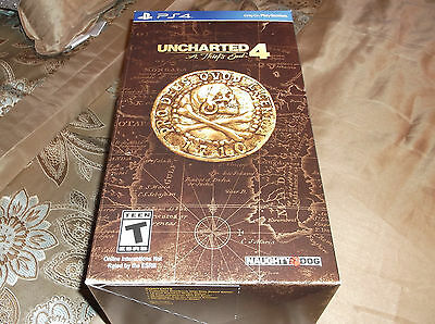 NEW UNCHARTED 4: A Thief's End LIBERTALIA COLLECTOR'S EDITION PS4 Game