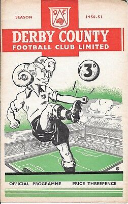 Derby County v Chelsea 1950/51
