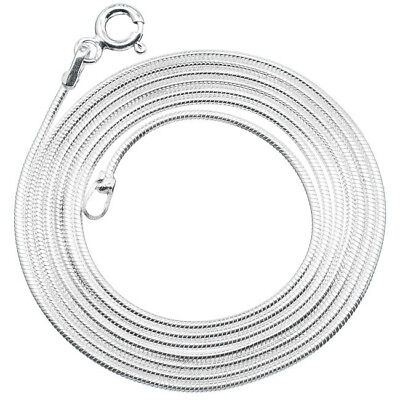 """Ana Silver Co 925 Sterling Silver Solid Chain 24"""""""