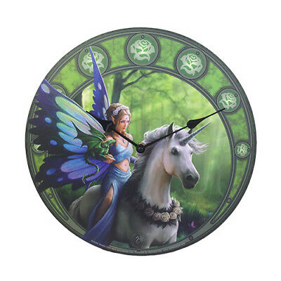 REALM OF ENCHANTMENT Anne Stokes Fairy Wall Clock faery faerie