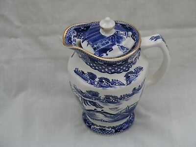 Willow Pattern Jug by Ringtons A copy of a Mailing design from the 1920s by Wade