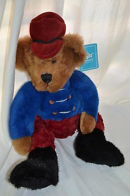 """RUSS AMRAM Bandy Collectible Teddy Bear """"Bears From the Past"""" W/Tags!"""