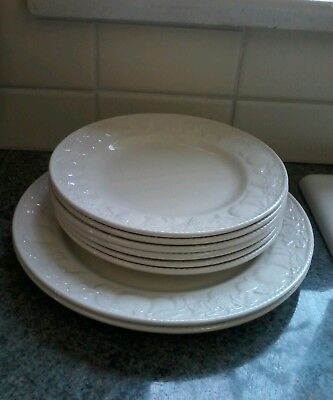 Bhs Lincoln/barretts Plates X 8 Excellent