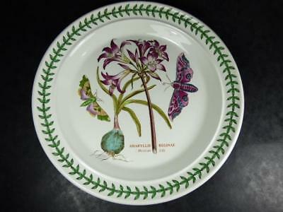 PORTMEIRION  BOTANIC GARDEN MEXICAN LILY LARGE PLATE,26cm