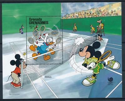 [108208] Grenada Grenadines 1988 Walt Disney Olympics Good sheet Very Fine MNH