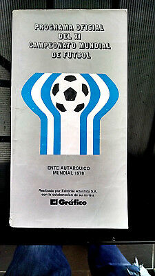 1978 World Cup: Tournament programme 322 pages (Spanish edition)