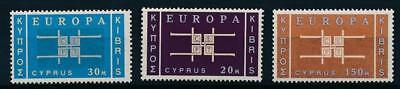 [108337] Cyprus 1963 EUROPA Good set Very Fine MNH stamps