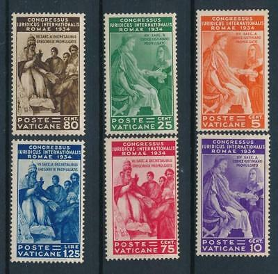 [108358] Vatican 1935 Good SCARCE set Fine/Very Fine MNH stamps Value $1100