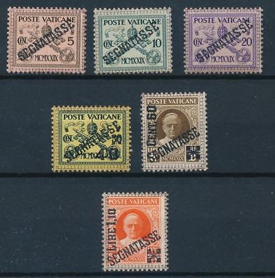 [108382] Vatican 1931 Good set Very Fine MH postage due stamps Value $90