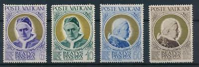 [108383] Vatican 1951 Good set Very Fine MH stamps