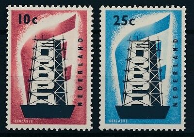 [3547] Netherlands 1956 EUROPA good set very fine MH stamps value $70