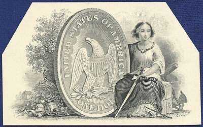 AMERICAN BANK NOTE Co. ENGRAVING: 211a JUSTICE WITH DOLLAR