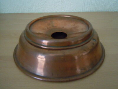 Vintage Copper Ashtray With Removable Top