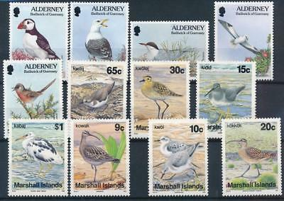 [3636] World birds good set very fine MNH stamps