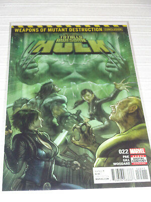 Totally Awesome Hulk 22 Weapons of Mutant Destruction 1st Print NM Weapon H