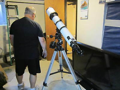 """ORION"" 120mm refractor Telescope model# Astro-View 120 EQ"