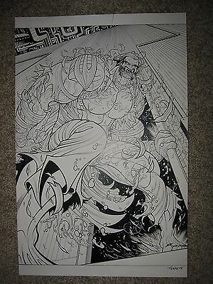 Tradd Moore ALL NEW GHOST RIDER 2 pg 7 ENTER MISTER HYDE SUPER SPLASH