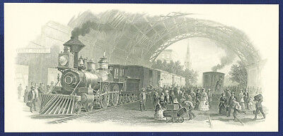 AMERICAN BANK NOTE Co. ENGRAVING: NEW DEPOT