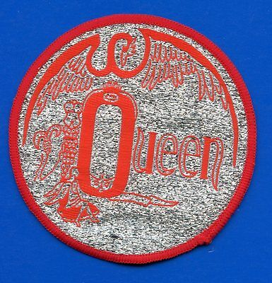 Queen Freddie Mercury Night At The Opera vintage 1970s large SEW ON PATCH