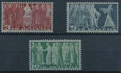 [38036] Switzerland 1938 Good lot of Very Fine MH stamps