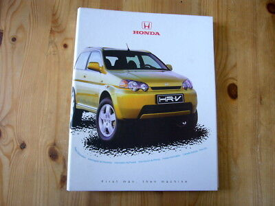 Honda HR-V press kit, 1999, excellent condition, rare & original