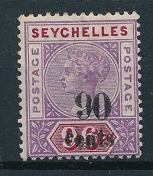 [38211] Seychelles 1893 Good stamp Very Fine MH Value $75