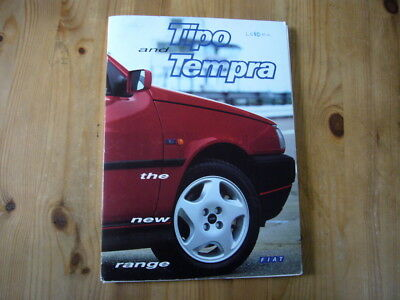 Fiat new Tipo & Tempra press kit, 1993, rare & original, excellent condition
