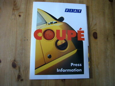 Fiat Coupe UK press kit, 1995, rare & original, excellent condition