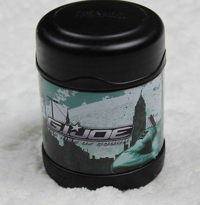 GI Joe The Rise of Cobra Metal Thermos Insulated Hot Cold Lunchbox 6577