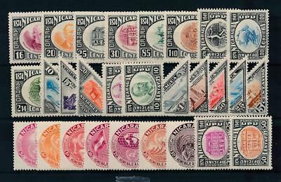 [38363] Nicaragua Good lot of Very Fine MH stamps