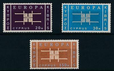 [38389] Cyprus 1963 EUROPA CEPT Good set Very Fine MNH stamps