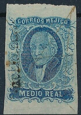 [38405] Mexico 1856 Good classical stamp Very Fine used