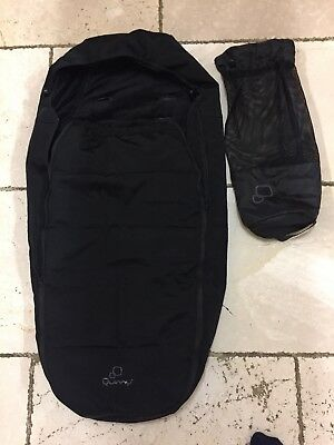 Quinny Buzz And Zapp Footmuff with bag. Excellent condition