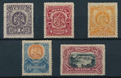 [38480] Mexico 1902/03 Good lot of Very Fine MH stamps
