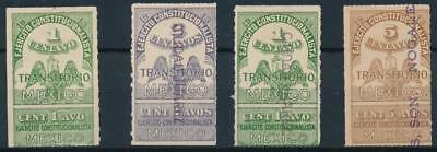 [38489] Mexico 1914 Good lot Very Fine MH stamps