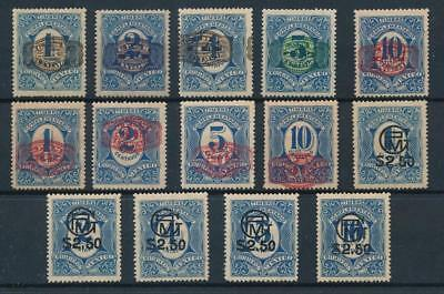 [38531] Mexico 1916/7 Good lot postage due stamps Very Fine MH stamps