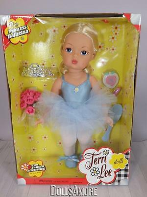 TERRI LEE DOLL NEW- Reproduction - PRINCESS BALLERINA MIB 2004