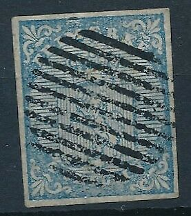 [3953] Norway 1855 first stamp very fine used with nice cancel