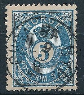 [3987] Norway  good classic stamp very fine used with nice cancel