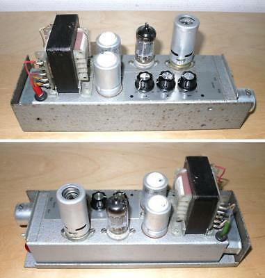 Vintage Strässer microphone tube preamplifier - Germany / 1960's