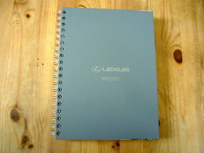 Lexus RX300 launch press kit, 2003, excellent condition, rare & original