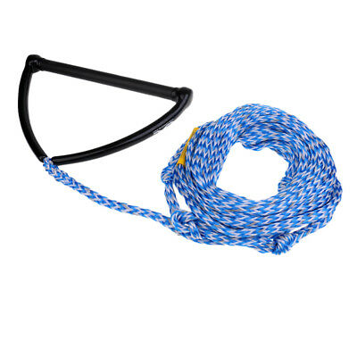 75' 2200lb 1 Section Wakeboard Knee Board Water Ski Tow Rope with EVA Handle