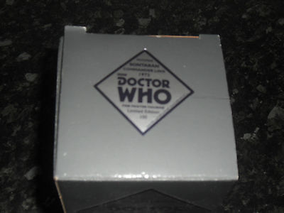 Robert Harrop : Doctor Who Pewter Figurine - Sontaran Commander Linx 1973 (Bnib)