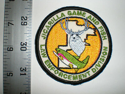 NM New Mexico Jicarilla tribe Game & Fish Warden DNR Ranger tribal police patch