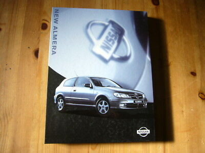 Nissan Almera press kit, 1999, rare & original, excellent condition